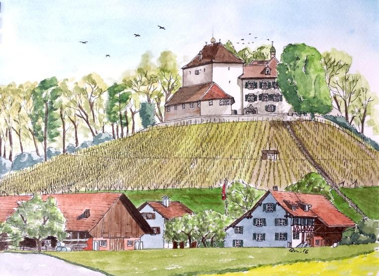 Schloss Girsberg, Guntalingen.